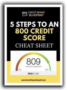 Diy Credit Repair 800 Score