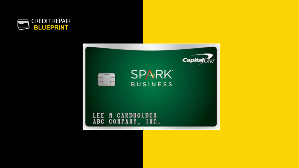 The Credit Repair Blueprint Best Credit Card - Spark Business Card