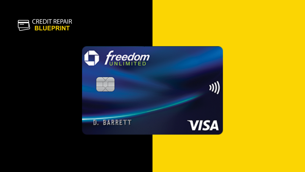 Chase Freedom Unlimited Rewards Credit Card