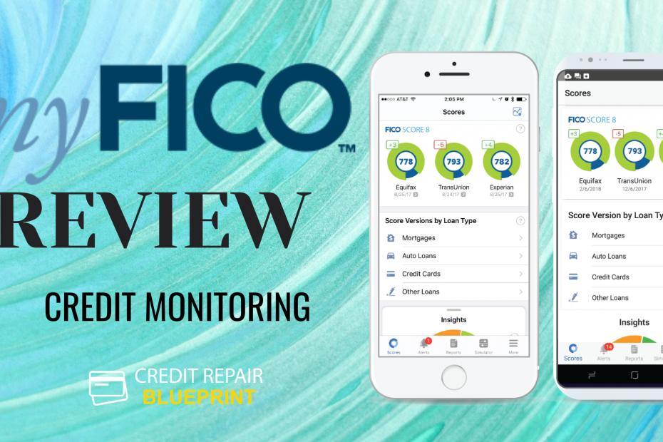 myFICO Review - Credit Monitoring