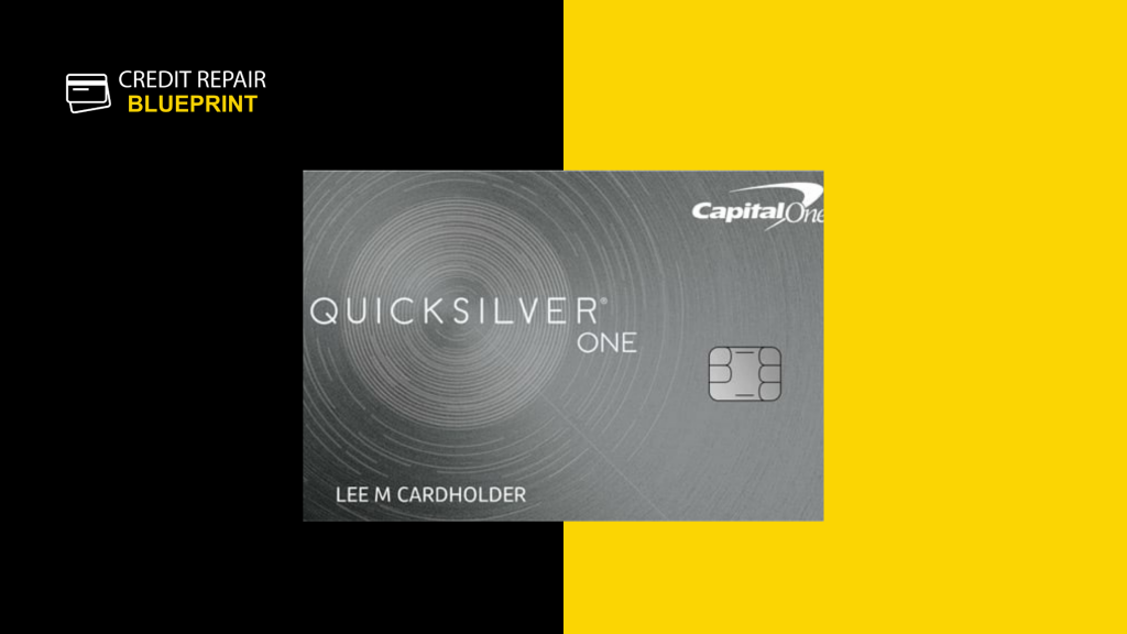 Capital One QuickSilver One Credit Card for good credit