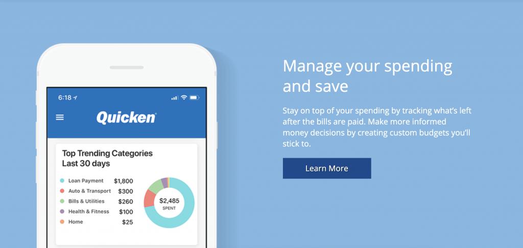 Quicken Best Budgeting App