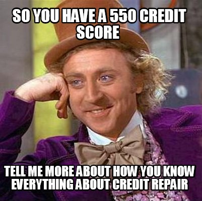 Bad Credit, Credit Repair