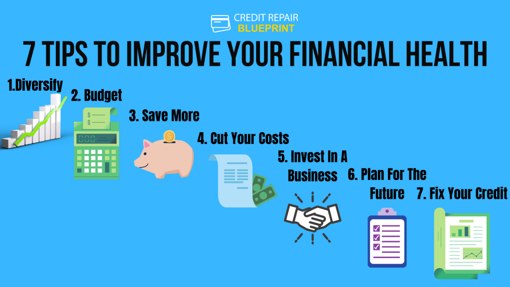 7 Tips To Improve Your Financial Health
