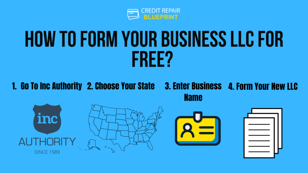 How To Form Your LLC For Free - The Credit Repair Blueprint