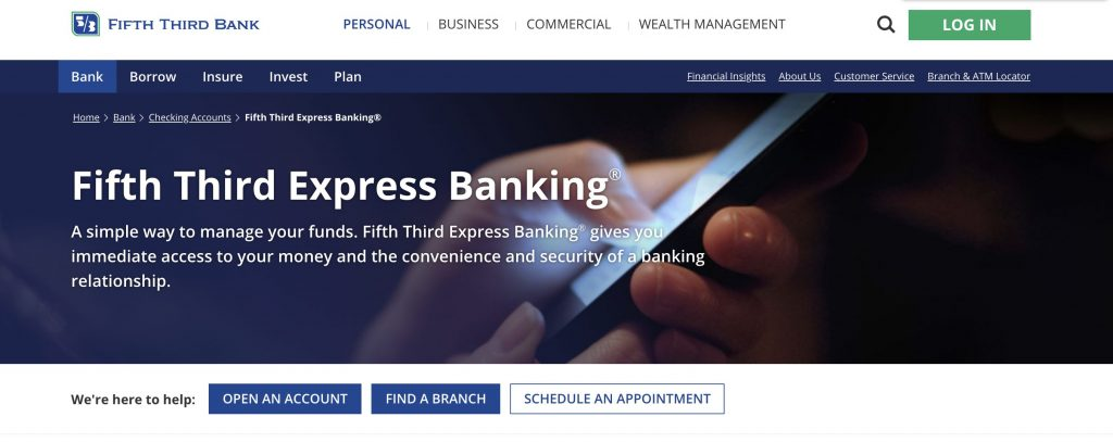 Fifth Third Checking Account For Bad Credit