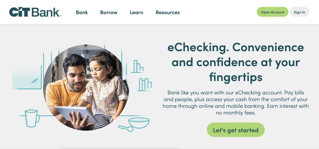 Cit Bank - Bad Credit Checking Account That Doesn't Use ChexSystems