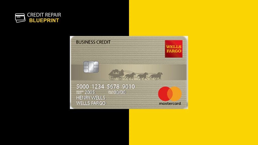 Wells Fargo Secured Business Credit Card - best business credit card for bad credit