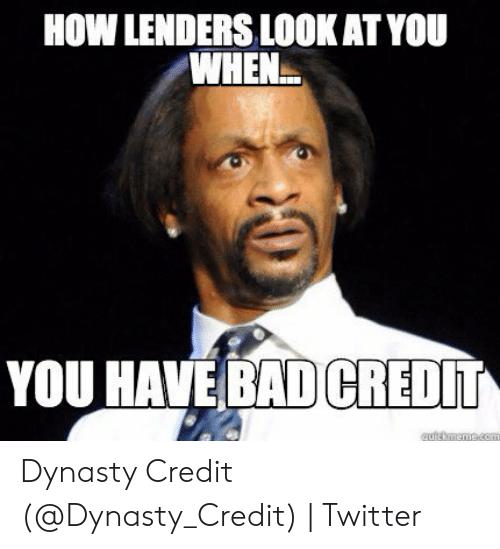 Bad Credit Meme- The Credit Repair Blueprint