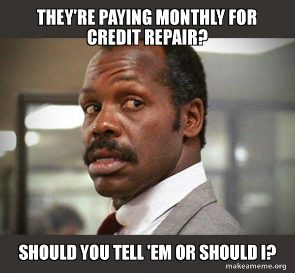 Should you pay for credit repair- The Credit Repair Blueprint