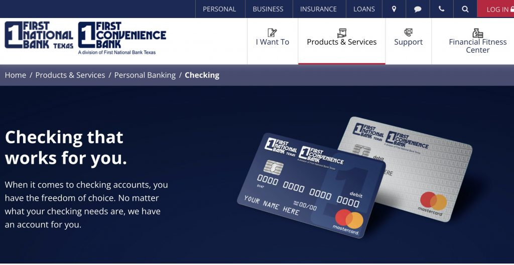 First Convenience Bank - Best Banks Who Don't Use ChexSystems