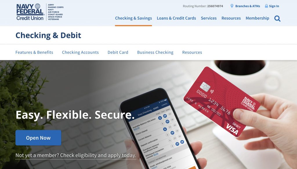 Navy Federal Credit Union - Banks Who Don't Use ChexSystems