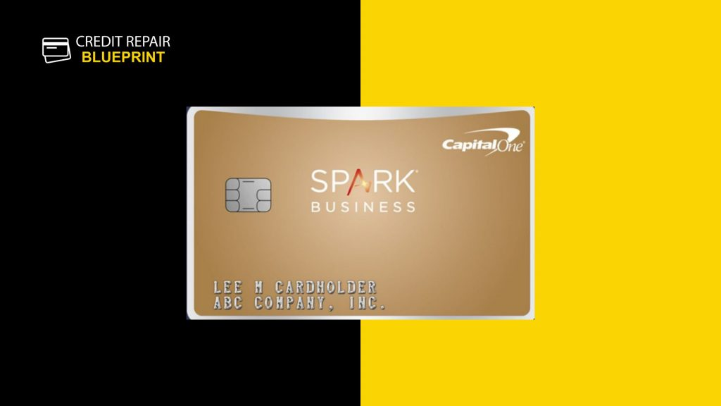 Capital One spark classic business credit card - best business credit card for bad credit