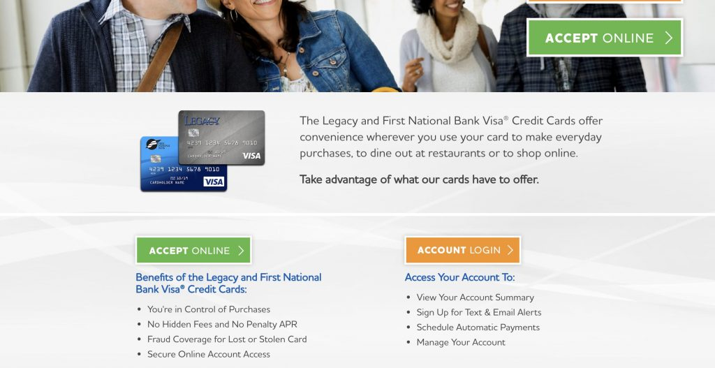 How to login to your Legacy Visa Credit Card Account? - The Credit Repair Blueprint