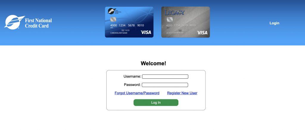 Legacy Visa Credit Card Login