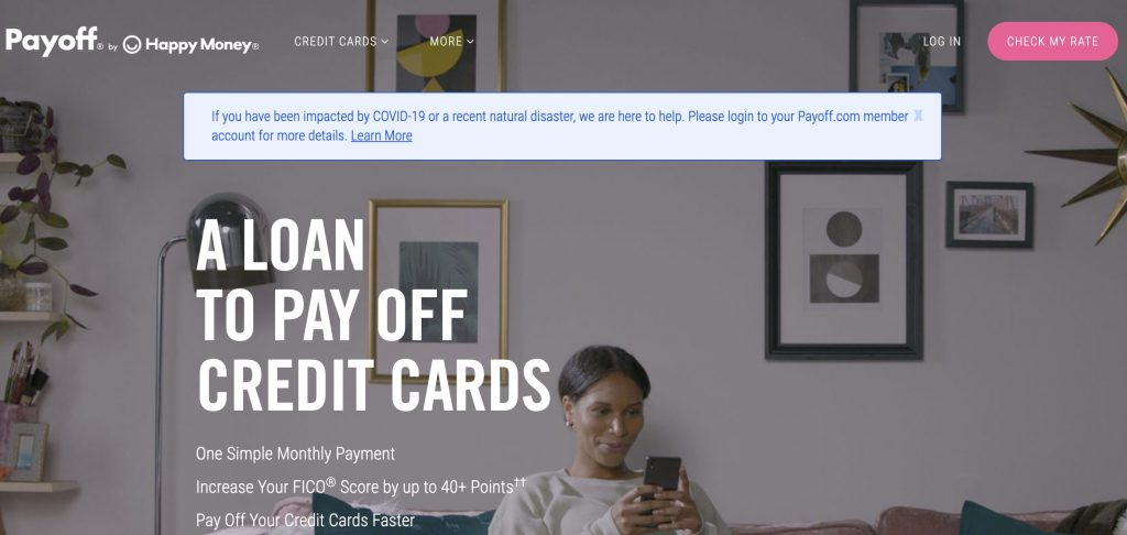Payoff credit cards loans