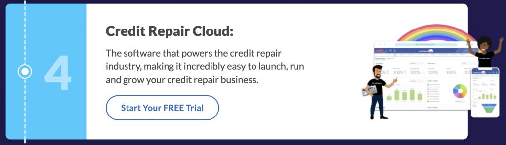 Credit Repair Cloud Software
