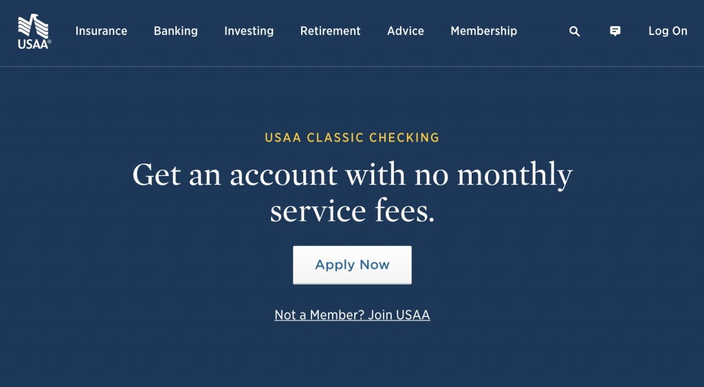 USAA Classic Checking - Best Free Checking Account